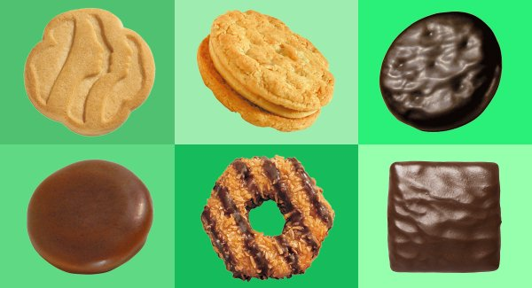 Girl Scout Cookie Donations for Care Packages